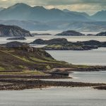 Looking over the Summer Isles at Altandhu