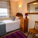 Single room accommodation in our 3 bedroom chalets at Port Beag
