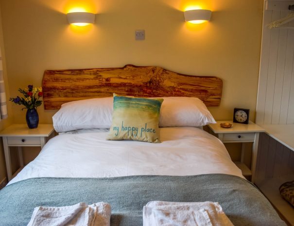 Double room in our 3 bedroom Chalets at Port Beag