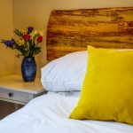 Double room in our 3 bedroom chalet at Port Beag Chalets, near Achiltibuie