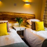 Twin or Superking room in our 3 bedroom chalet at Port Beag Chalets, Altandhu on the Coigach Peninsula