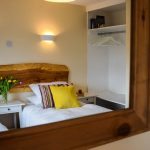 Fresh and bright accommodation with plenty of storage space