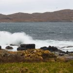 The sound of the sea will lull you to sleep at Port Beag Chalets