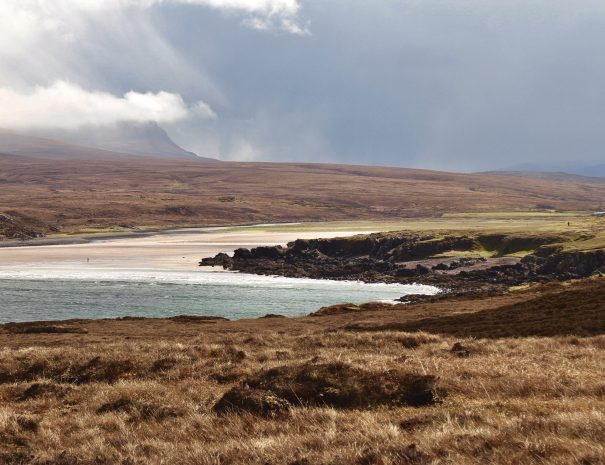 The beach at Achnahaird near Altandhu