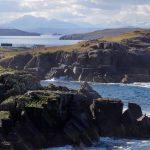 The dramatic coast line along the Coigach Peninsula